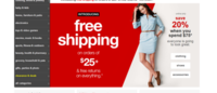 Target halves order size for free shipping to $25