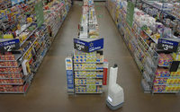Wal-Mart's new robots scan shelves to restock items faster
