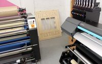 24-hour textile-printing studio opens in London