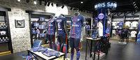Le PSG ouvre une première boutique avec un partenaire