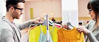 Consommation: l'habillement sort du rouge au 1er semestre
