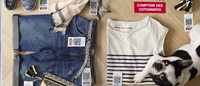 """Comptoir des Cotonniers lance son """"fast shopping"""" mobile"""