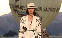Dior pairs cave painting with cowboys for Californian cruise show