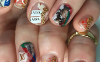 All that glitters: Japan 'nailists' turn manicures into art