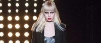 Fashion Week : les rockeuses de Saint Laurent, jeux de miroirs chez Sonia Rykiel
