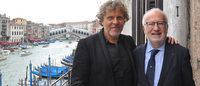 Iniziato a Venezia il restauro del Ponte di Rialto sponsorizzato da OTB