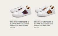 The Sartorialist and Sutor Mantellassi launch a collaborative sneaker collection