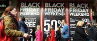 La OCU señala que las cadenas apenas hicieron rebajas durante el Black Friday y Cyber Monday