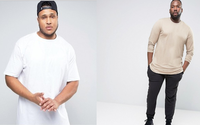Asos adds men's plus-size and tall departments