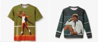 Coleção Lacoste L!VE traz estamparia com imagens vintage de tenistas