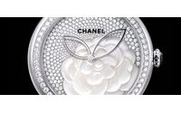 Baselworld: a mother-of-pearl camellia watch from Chanel