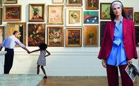 Weekend Max Mara scatta l'adv nella Galleria d'Arte Moderna di Roma