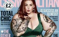 Модель plus size снялась для обложки Cosmopolitan
