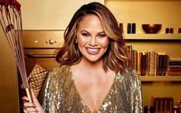 Chrissy Teigen cooks up a sweet treat for Becca Cosmetics