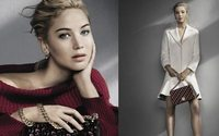 Jennifer Lawrence dazzles in new Dior campaign