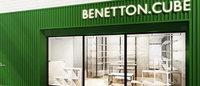 ベネトンの新小型店舗「ベネトン キューブ」1号店が渋谷に