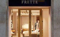 Frette ha riaperto lo storico negozio di Via Manzoni a Milano
