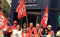 Vivarte : journée de mobilisation à Bercy