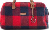 Taschen-Innovation Calgary von Loubs mit klarem Schotten-Karo