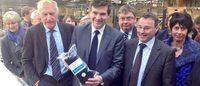 """Made in France: Montebourg prône un """"coup de pied aux fesses"""" de la distribution"""