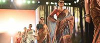 LIVA showcases its first saree collection in Kolkata