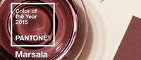 Pantone: il 'marsala' il colore dell'anno 2015
