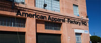 American Apparel employees protest salary cuts and layoffs