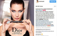 Bella Hadid stuns in first campaign for Dior Beauty