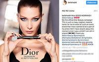Обворожительная Белла Хадид в первой кампании Dior Beauty
