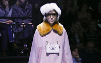 Winter mountain wonderland for Anya Hindmarch at London fashion week