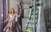 Fashion collections dress Wimbledon windows