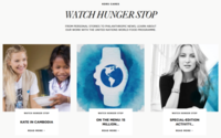 Michael Kors startet zum 5. Mal die Watch Hunger Stop-Kampagne