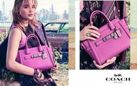Chloe Moretz models for Coach spring 2017 collection
