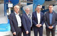 Hermes eröffnet Hochleistungs-Verteilzentrum in Leipzig
