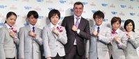 ソチ五輪公式時計オメガ、鈴木選手ら日本代表にエール