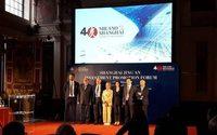 Milano e Shanghai celebrano 40 anni di rapporti economici