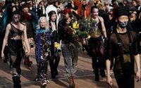 Husband's Paris catwalk love letter to 'Queen of Punk' Westwood