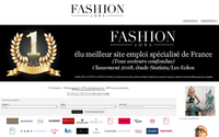 FashionJobs.com named best employment site in France by Les Echos