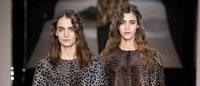 La franela y los grises luminosos y sombreados de Armani sorprenden en Milán