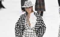 Chanel: A winter wonderland farewell to Karl with a minute's silence