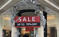 Pre-Christmas discounts are deepest ever, mid-market fashion sees biggest cuts