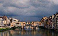 Firenze si colora per la serata inaugurale di Pitti Uomo