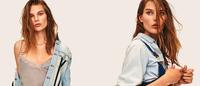 Denim de camisola podrinha na Elle Suécia