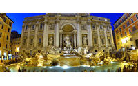 Rome's Trevi Fountain opens after Fendi makeover