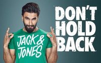 Jack & Jones new campaign features Bollywood actor Ranveer Singh