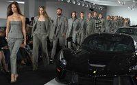 New York Fashion Week : Ralph Lauren tout en carreaux et en cuir