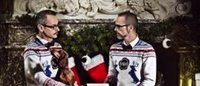 Viktor & Rolf say happy holidays in their own special way