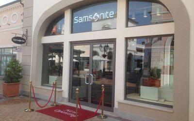 Samsonite inaugura al Designer Outlet di Noventa di Piave - Notizie ...