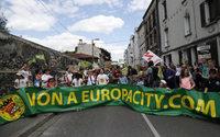 EuropaCity : des centaines de manifestants dimanche à Gonesse contre le projet