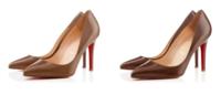 Christian Louboutin apresenta coleção de sapatos nude